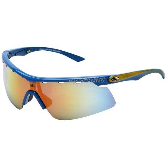 Óculos Mormaii Athlon 2 - Azul e amarelo - Compre Agora   Netshoes a5030eb576