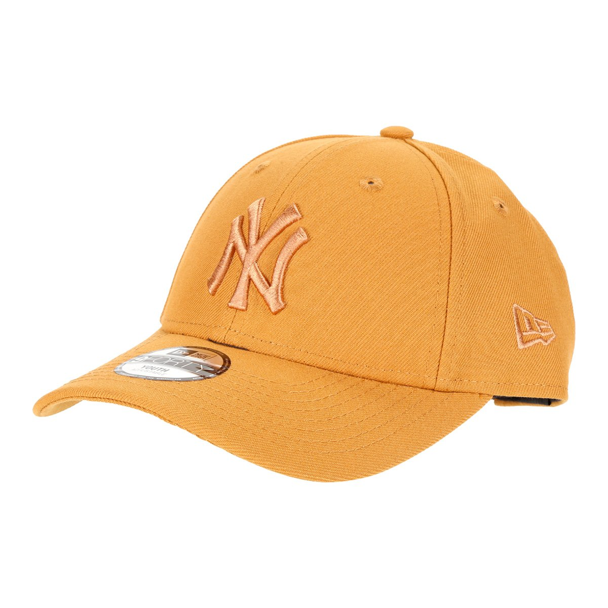 Boné Juvenil New Era Aba Curva Strapback MLB 9Forty New York Yankees Masculino