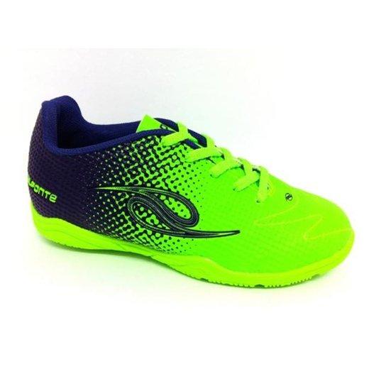 d9800ae6e3fff Chuteira Futsal Dalponte Flash jr Infantil - Verde e Azul - Compre ...