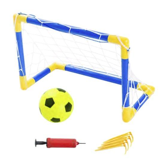 ffa34e6e22 Kit Jogo Beach Soccer Portátil Bel Sports 488100 - Azul e amarelo ...