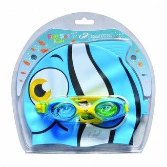 Óculos de natação Fun set kids 01181862a7653