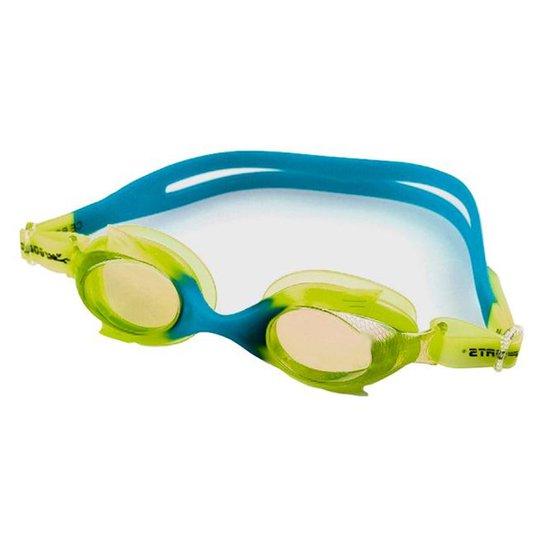 52330800a Óculos De Natação Gold Sports Kids Little Fish - Verde e Azul ...