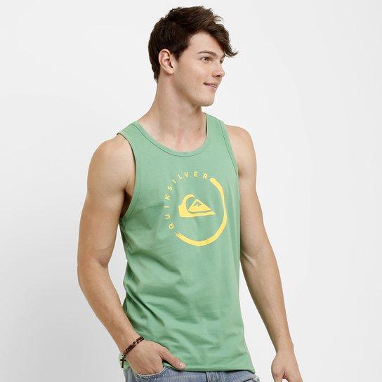 Camiseta Regata Quiksilver Active Ink - Compre Agora   Netshoes 4574d4ff04