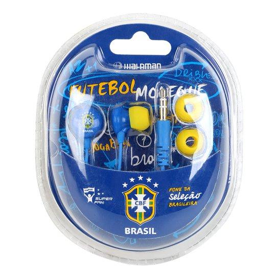 53eb86494e2e7 Fone de Ouvido Seleção Brasileira Waldman Super Fan - Compre Agora ...
