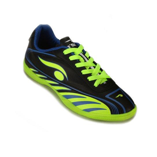 e5771e694d Tênis Futsal Dsix Infantil DS18-6203 - Verde e Azul - Compre Agora ...