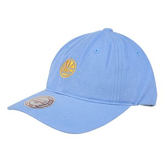 Boné NBA Golden State Warriors Mitchell & Ness Chukker Aba Curva