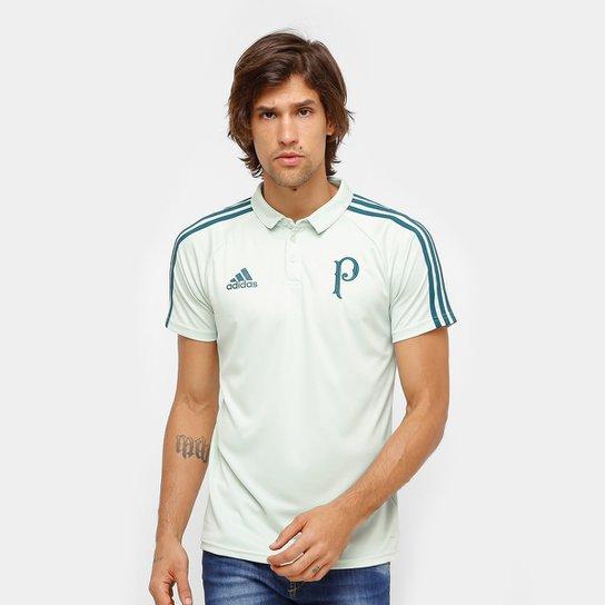 Camisa Polo Palmeiras Adidas Viagem 17 18 Masculina - Compre Agora ... 60eff9cba451c