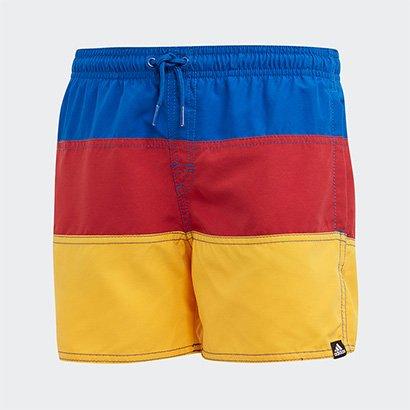 Short Infantil Adidas Young Color Block