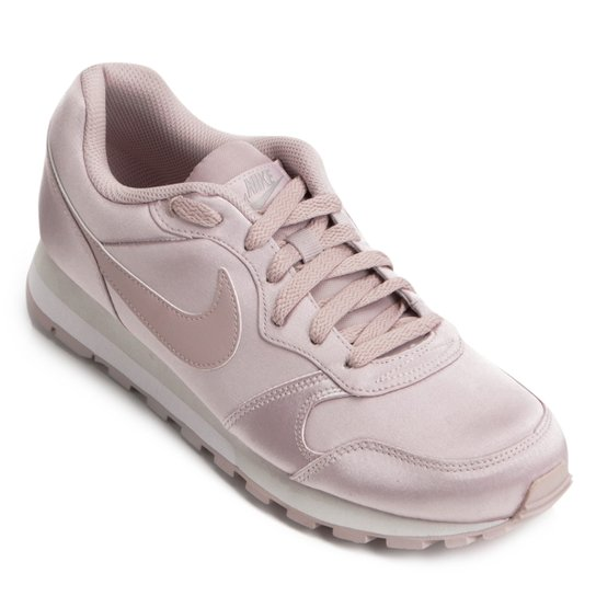 88f06a60638 Tênis Nike Md Runner 2 Feminino - Rosa Claro - Compre Agora