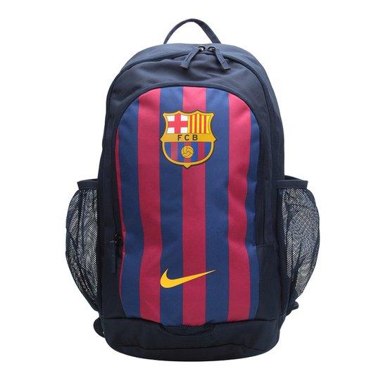 Mochila Nike Barcelona BKPK - Azul e Dourado - Compre Agora  2fe6d838509f9