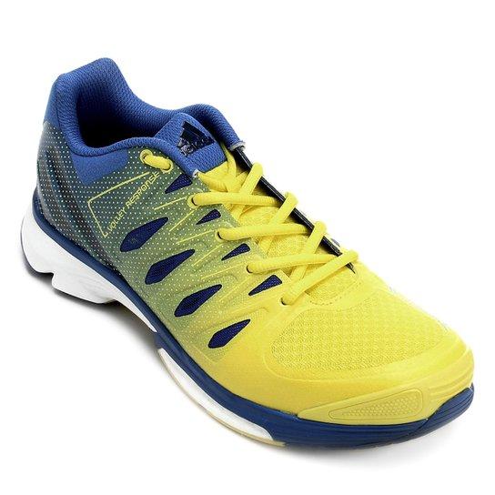 7346f52510 Tênis Adidas Volley 2 Boost - Azul e amarelo - Compre Agora