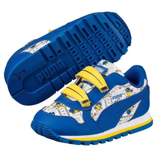 e4b904d7b53 Tênis Infantil Puma Minions St Runner V Ps - Compre Agora