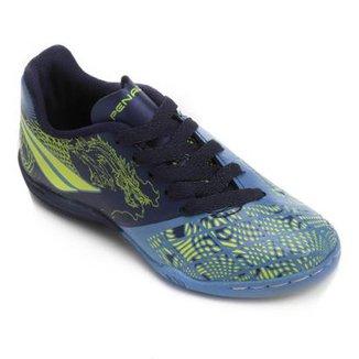 381438fe5c Chuteira Futsal Infantil Penalty K Soccer Victoria Dragon 7