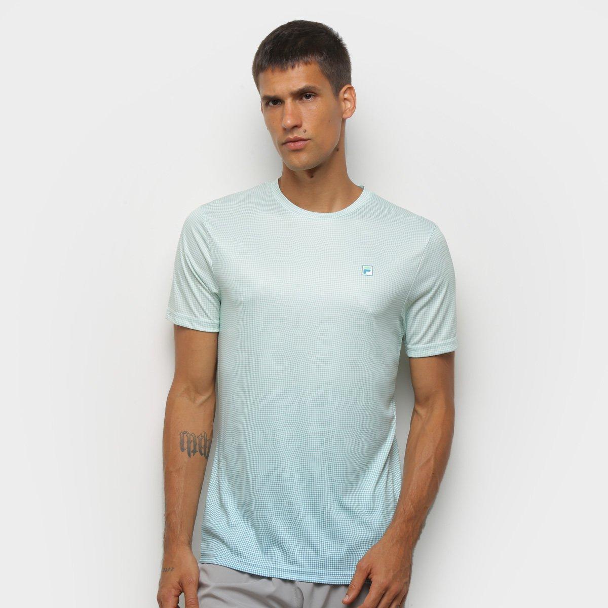Camiseta Fila Aztec Box Net Masculina