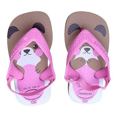 Sandália Infantil Havaianas New Baby Pets