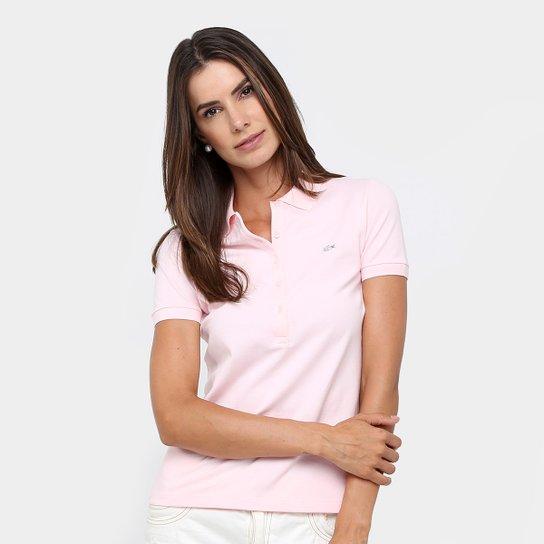 Camisa Polo Lacoste Logo Feminina - Compre Agora   Netshoes c59e88d7f9