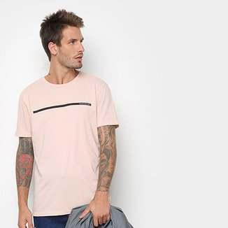 9f16c8560bdcc Camiseta Calvin Klein Estampa Básica Masculina