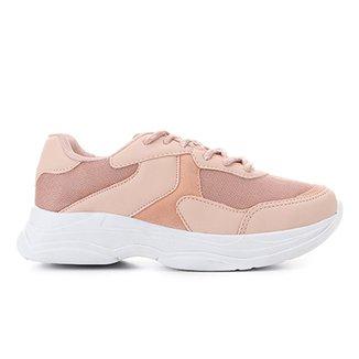 f3e8b490c22 Tênis Burn Chunky Sneaker Feminino