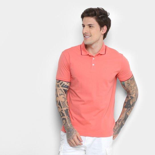 428afc3b4097a Camisa Polo Ellus Asa Frisos Classic Masculina - Rosa Claro - Compre ...