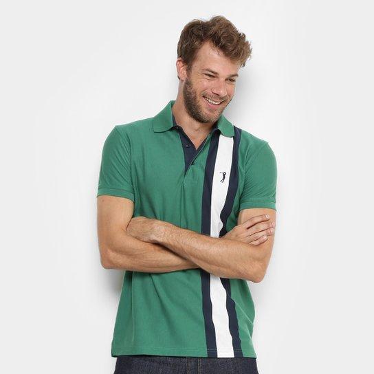 Camisa Polo Aleatory Listras Verticais Masculina - Compre Agora ... aec045d428c1c