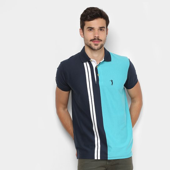 Camisa Polo Aleatory Listrada Masculina - Compre Agora  3f42ce40e79fa