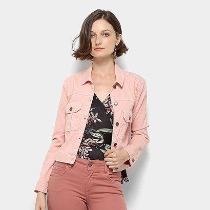 Jaqueta Jeans Mercatto Feminina