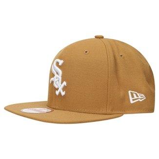 Boné New Era 950 Of Sn White On Wheat Chicago White Sox b51c4074214