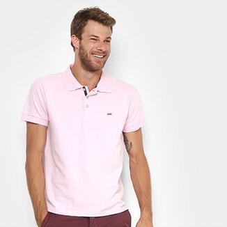 Camisa Polo Gangster Piquet Com Elastano Masculina 8bf8945158573