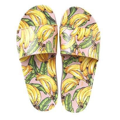 Chinelo Santa Lolla Slide Bananas Feminino