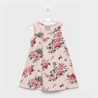 Vestido Infantil Milon Cotton Floral
