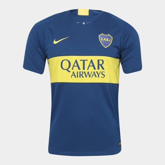 Camisa Boca Júniors Home 2018 s n° - Torcedor Nike Masculina - Azul ... 84be3953dac19