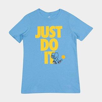 Camiseta Infantil Nike B Nsw Kick Jdi Masculina 84641525cbfca