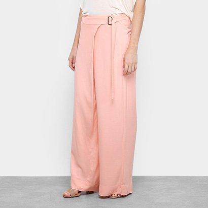 Calça Santíssima Pantalona Transpassada Feminina