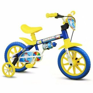 8a08021f9 Bicicleta Bicicleta Infantil Aro 12 Shark Nathor