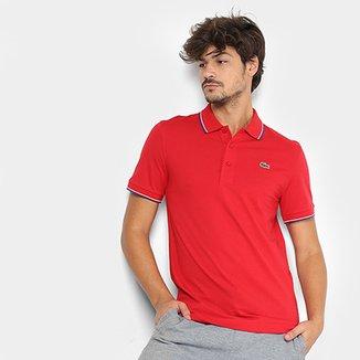 9680198d27 Camisa Polo Lacoste Frisos Masculina