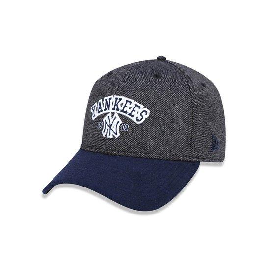 d7cbd553e Boné 940 New York Yankees MLB Aba Curva Snapback New Era - Mescla Escuro