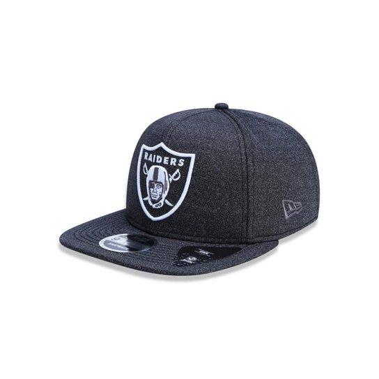 Boné 950 Original Fit Oakland Raiders NFL Aba Reta Snapback New Era -  Mescla Escuro 88219f76457