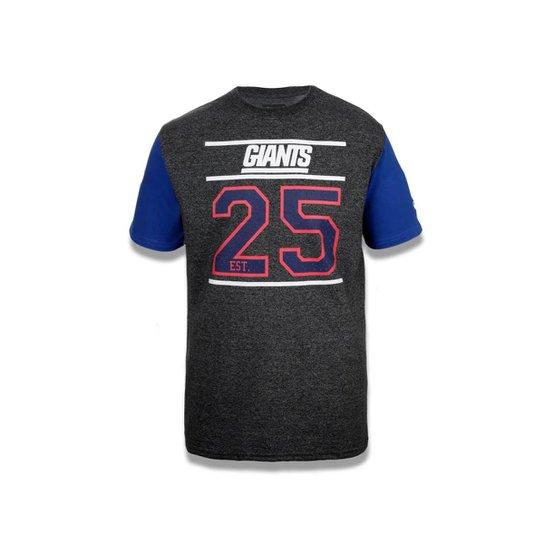307da611b1 Camiseta New York Giants NFL New Era Masculina - Mescla Escuro