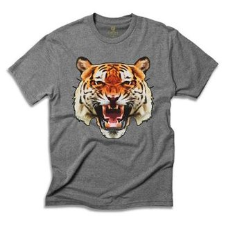 Camiseta Animal Cool Tees Tigre China Town bf7091aa05e