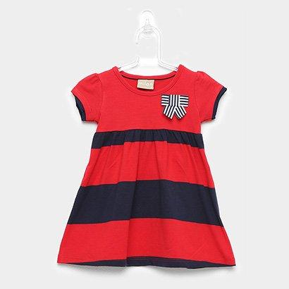 Vestido Infantil Milon Laço-11797PP