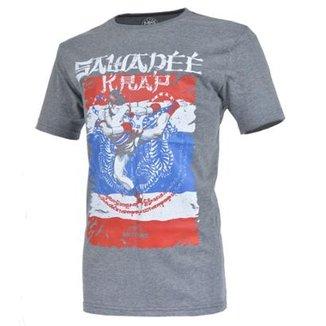 5af89ec73 Camiseta MKS Nations Thailand Muay-Thai