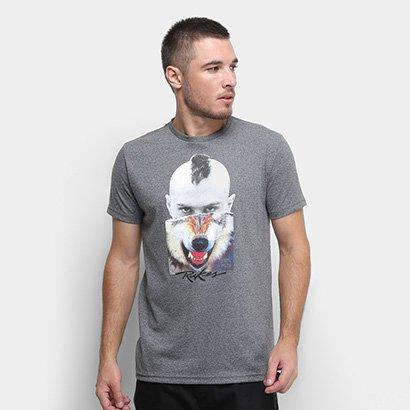 Camiseta Rukes Lobo Masculina