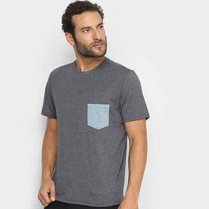 Camiseta Treebo Com Bolso Masculina