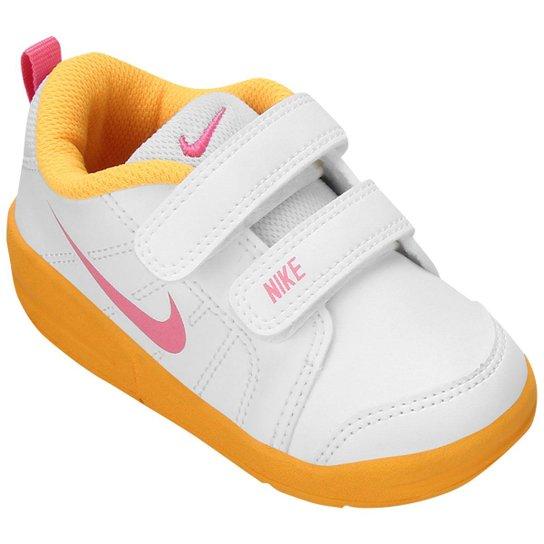 97c5c56f88 Tênis Nike Pico LT TDV Infantil - Branco+Amarelo