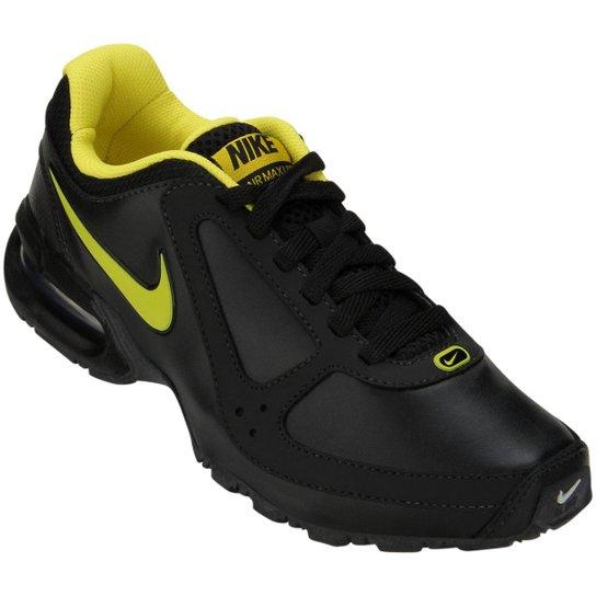 e64aa83cd94d4 Tênis Nike Air Max LTE SL - Preto e Amarelo