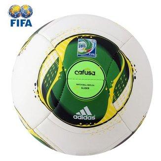 Bola Futebol Adidas Cafusa Glider - Copa das Confederações 965a65241f939