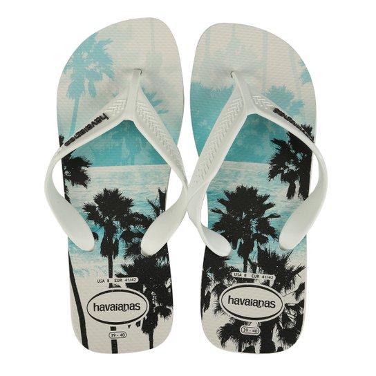 78c304564 Chinelo Havaianas Surf Masculino - Branco | Netshoes