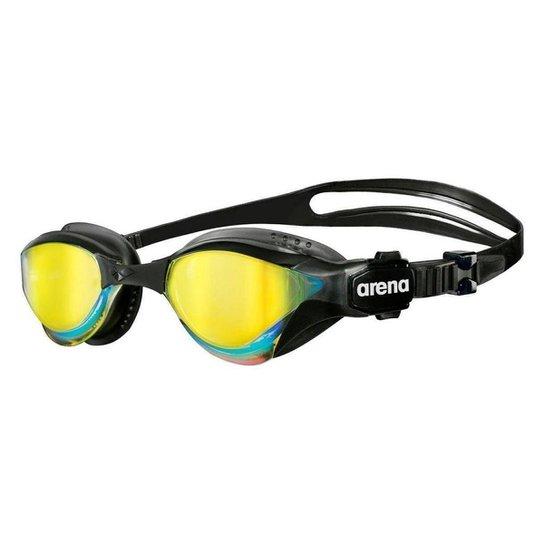 4c9dee420 Óculos De Natação Arena Cobra Tri Mirror - Preto e Amarelo - Compre ...