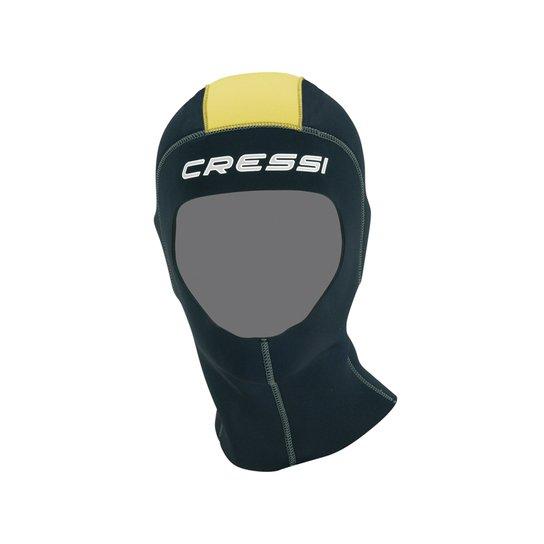 7e51d0e6b Capuz Cressi Castoro Neoprene 5Mm - Preto e Amarelo