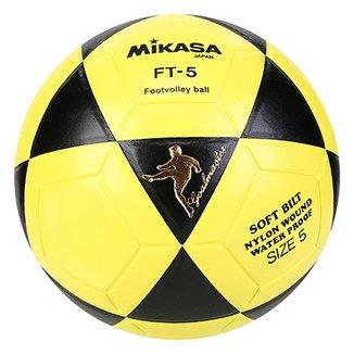 0fbd69869 Bola Futebol Mikasa FT-5 Futvôlei